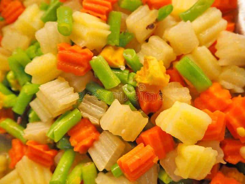 Смешанный овощ стоковое изображение rf