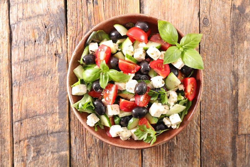 Смешанный салат овоща стоковая фотография