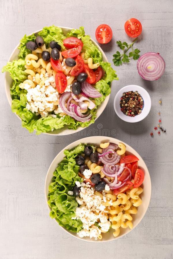 Смешанный салат овоща стоковое фото