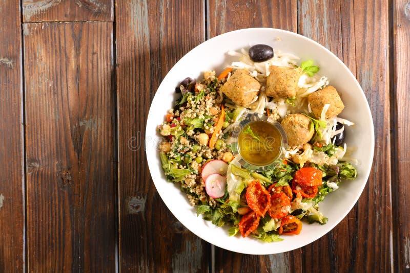 Смешанный салат овоща стоковые фотографии rf