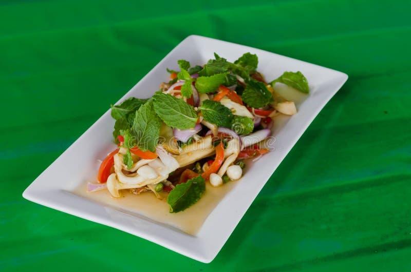 Смешанный салат гриба стоковая фотография