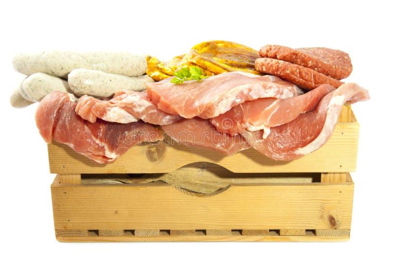 Смешивание мяса стоковые изображения