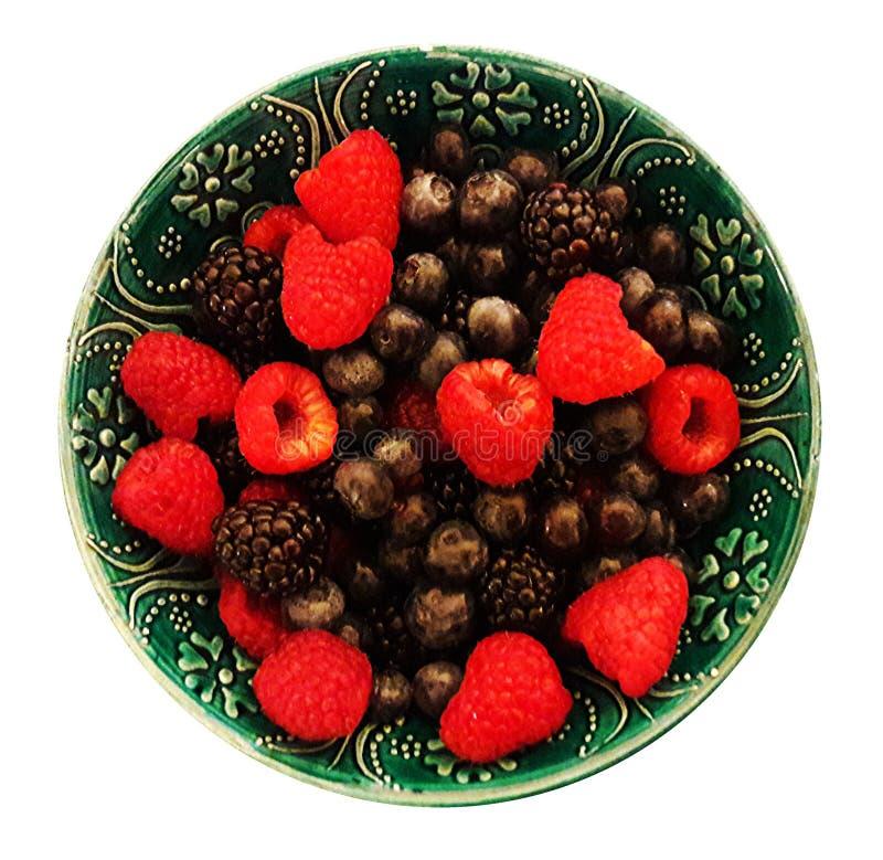 Смешивание ягоды лета стоковое изображение rf
