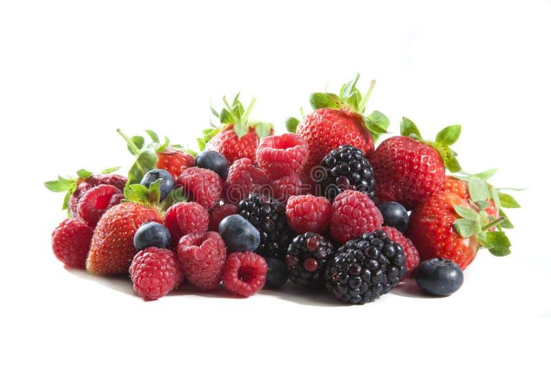 смешивание ягод стоковые изображения