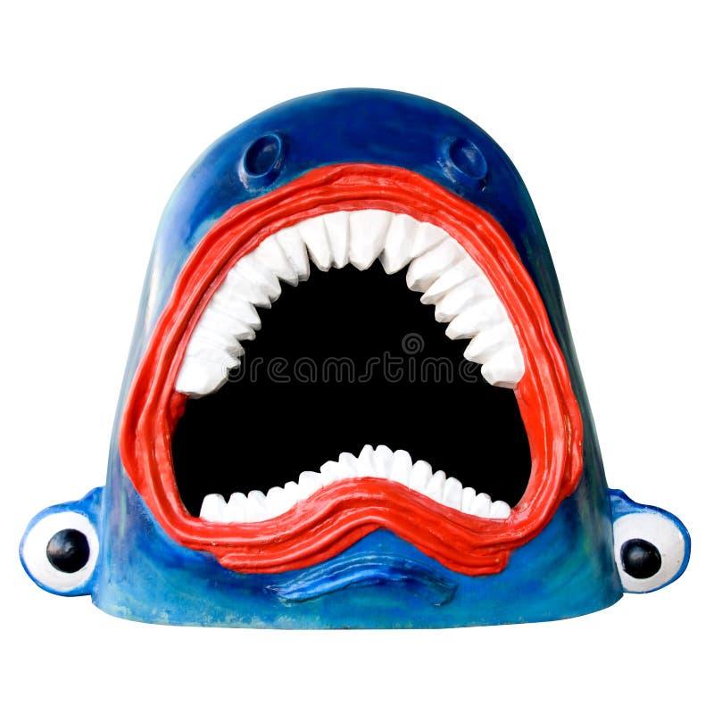 смешная акула стоковое изображение rf