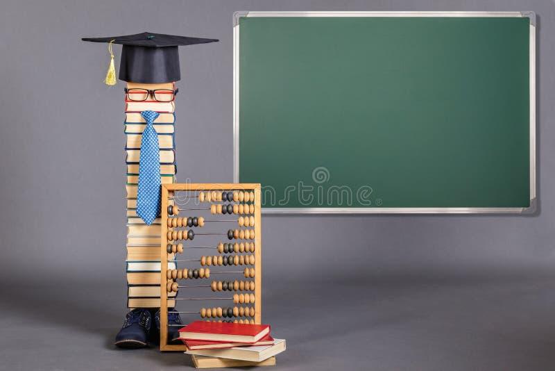 Смешная концепция образования стоковое изображение