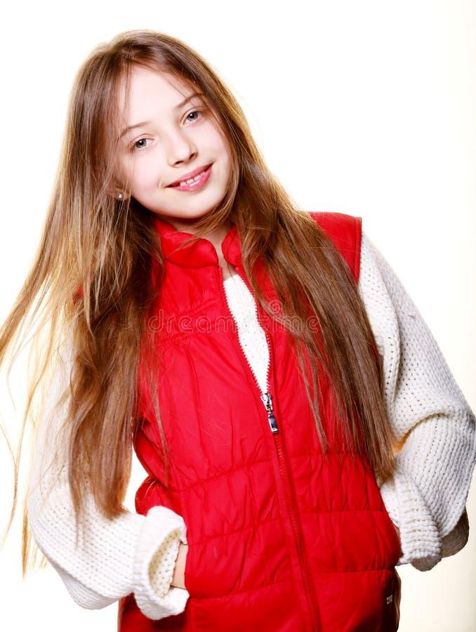 Смешная маленькая девочка стоковая фотография rf