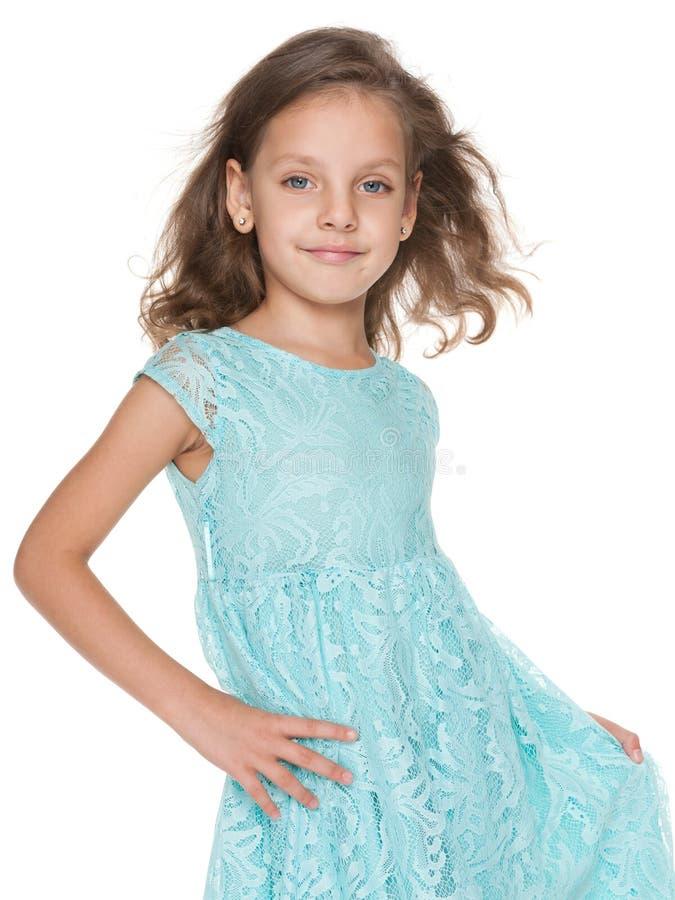 Смешная малая девушка стоковые фотографии rf