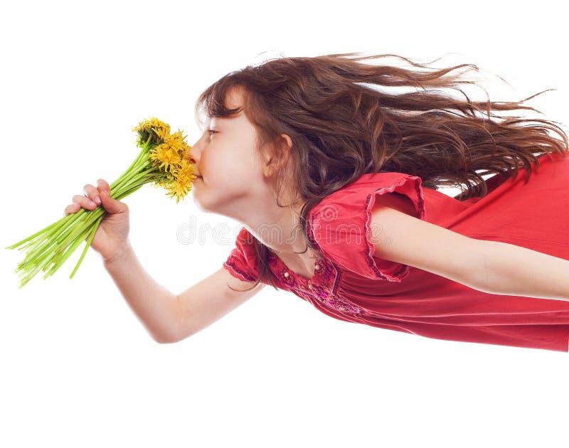 Смешная маленькая девочка стоковое фото