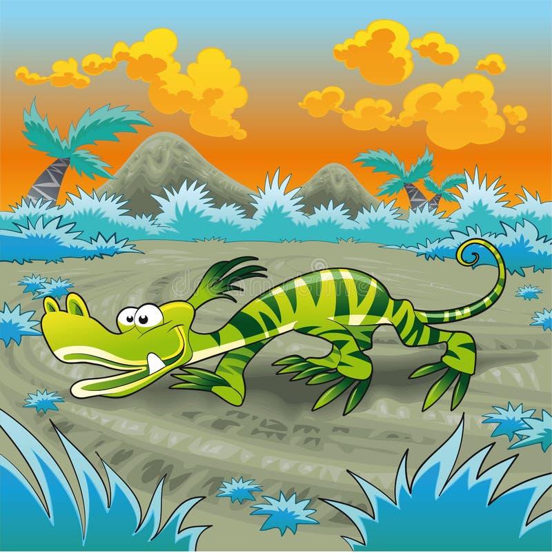смешная ящерица бесплатная иллюстрация