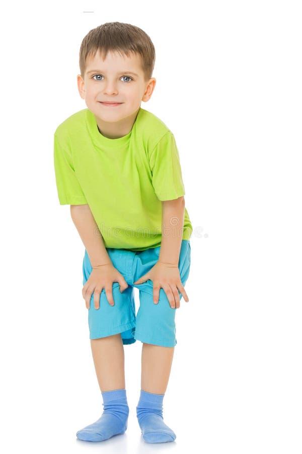 Смешное маленькое kid стоковая фотография