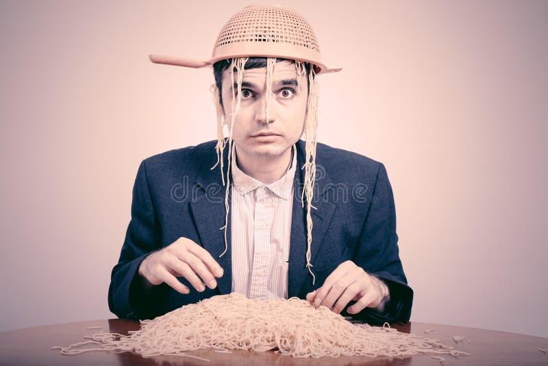 Смешное Pastafarian стоковые фотографии rf