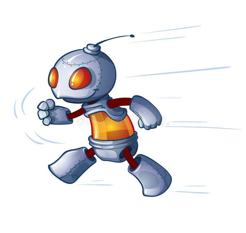 Смешной робот бесплатная иллюстрация