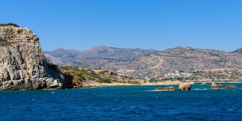 смещение удя среднеземноморскую сетчатую туну моря Крит Греция стоковая фотография rf