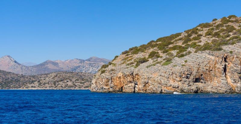 смещение удя среднеземноморскую сетчатую туну моря Крит Греция стоковое изображение rf