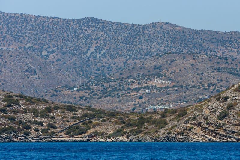 смещение удя среднеземноморскую сетчатую туну моря Крит Греция стоковое фото