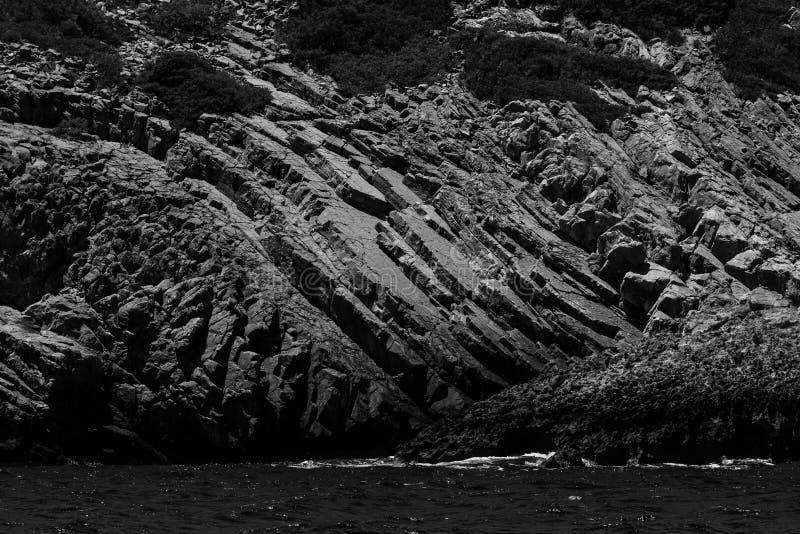 смещение удя среднеземноморскую сетчатую туну моря Крит Греция стоковое фото rf