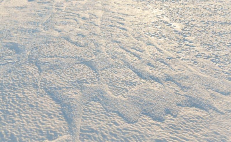 смещения белого снега стоковое фото rf