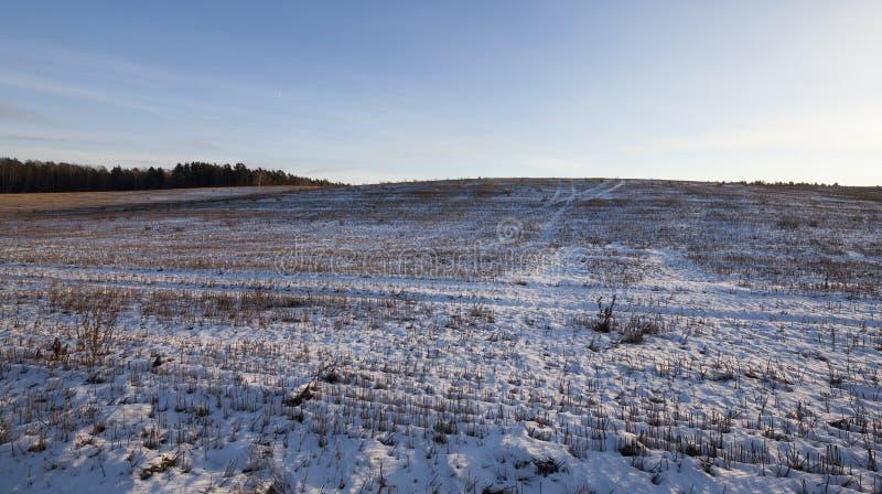 Смещения снега стоковое изображение rf