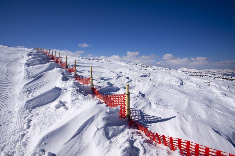Смещения снега стоковые фотографии rf