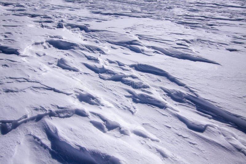 Смещения снега стоковая фотография rf
