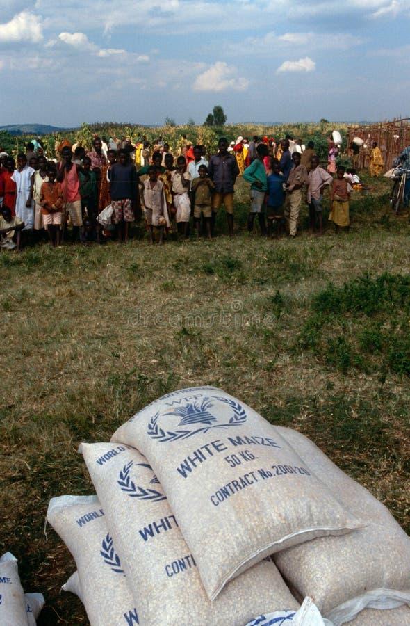 Смещенное распределение помощи людей. стоковые изображения rf