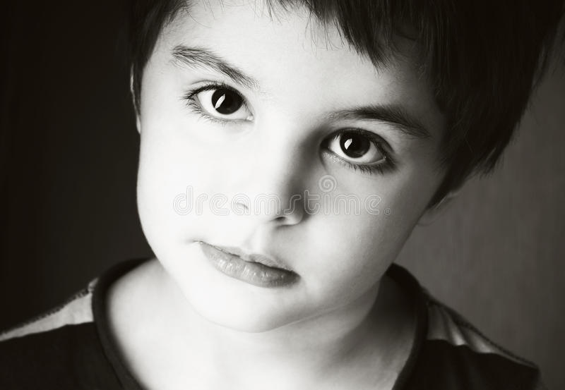 Смеясь над ребенк стоковые фотографии rf