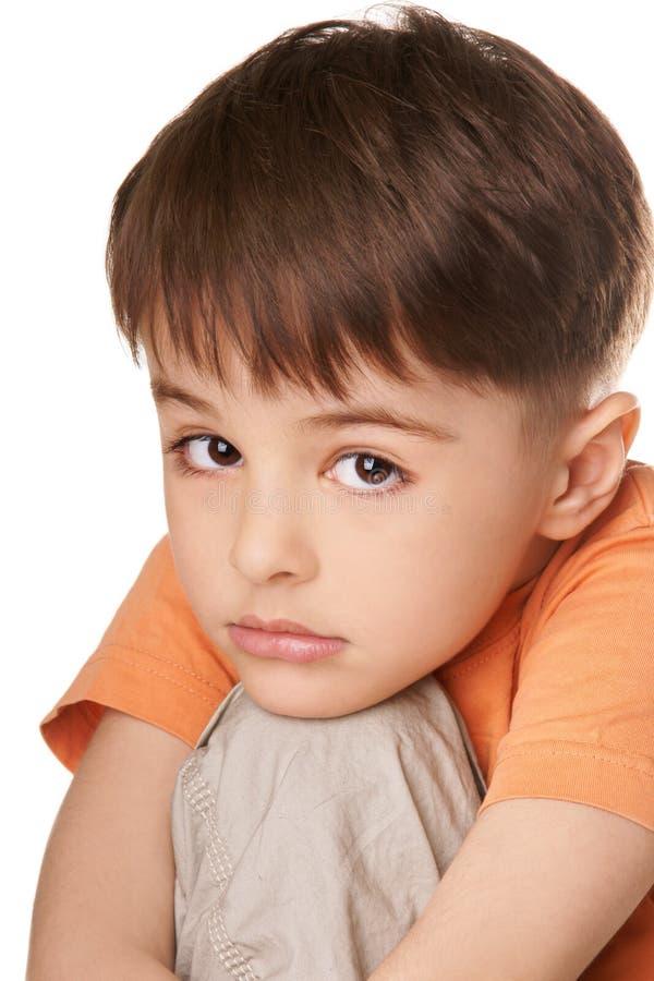 Смеясь над ребенк стоковые фото