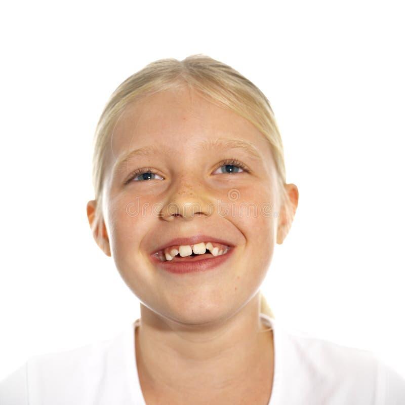 Download смеяться над девушки стоковое изображение. изображение насчитывающей губы - 483095