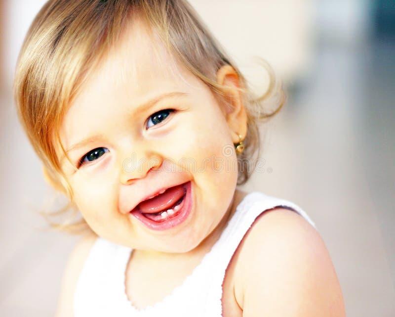 смеяться над младенца стоковое фото rf