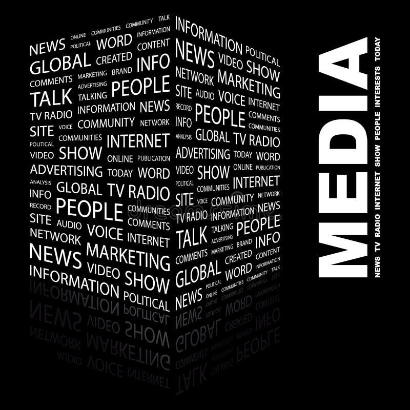 СМИ бесплатная иллюстрация