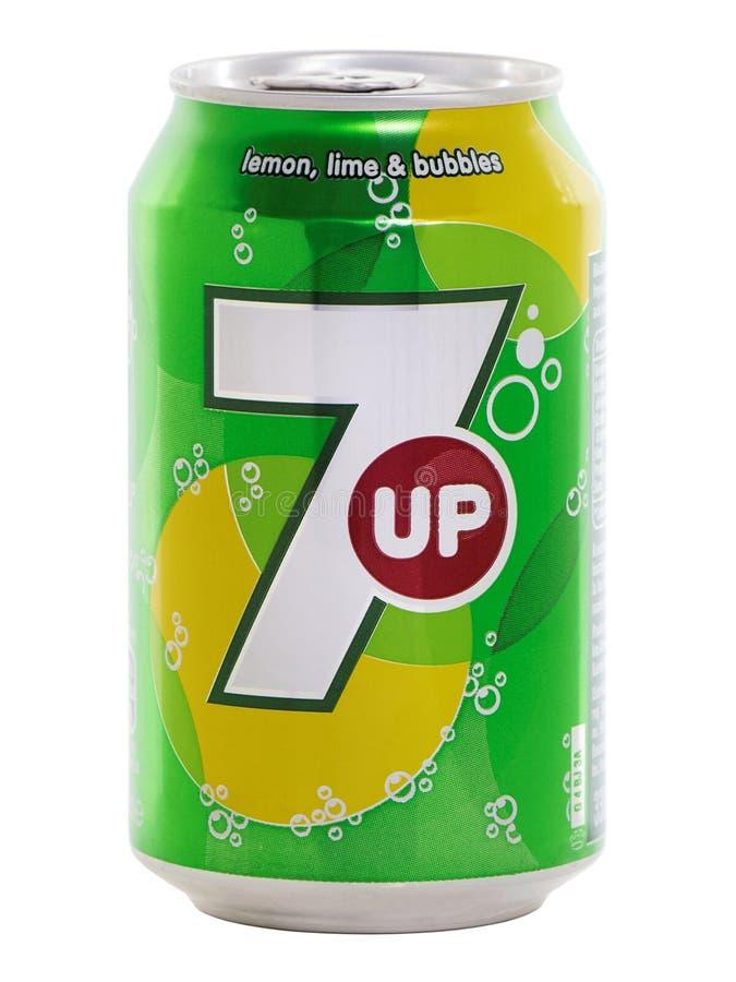 Смогите 7 вверх по питью стоковое фото rf