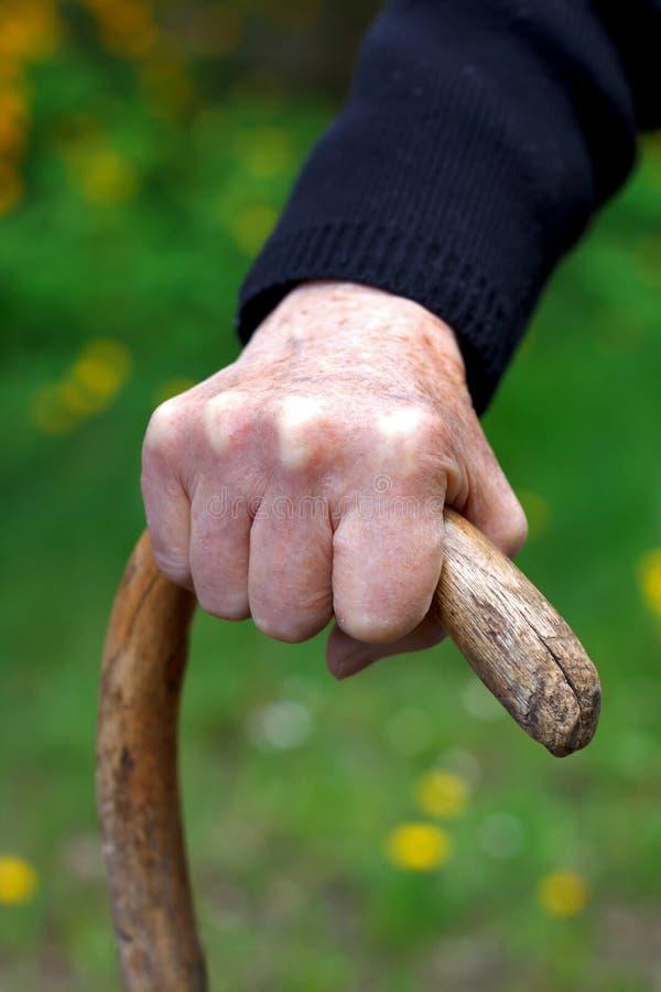 Сморщенные руки стоковая фотография rf