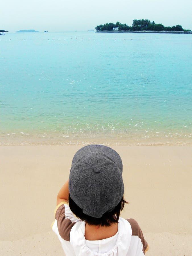 смотреть вне море к стоковое изображение rf