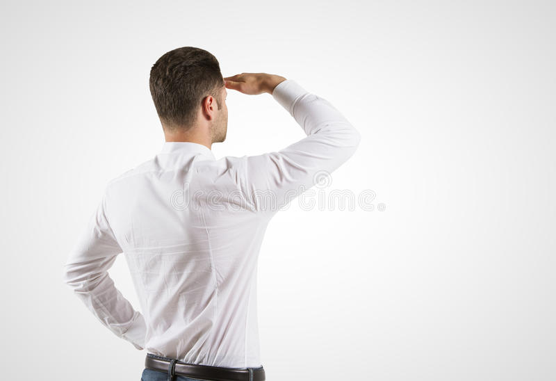 Download Смотреть молодого человека стоковое изображение. изображение насчитывающей рука - 37927175