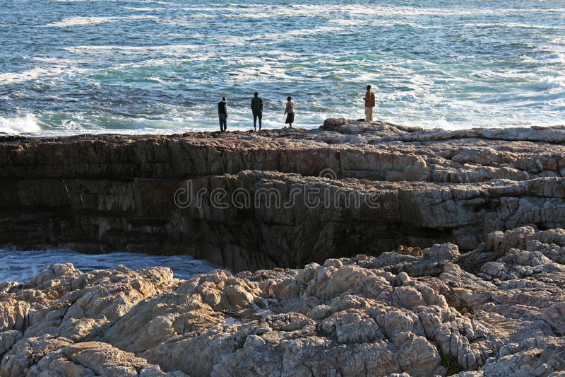 смотреть океан стоковая фотография rf
