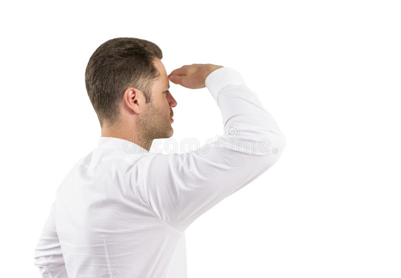 Download Смотреть человека стоковое фото. изображение насчитывающей мужчина - 37927176
