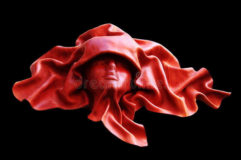 смотрите на людскую кожу маски стоковые изображения