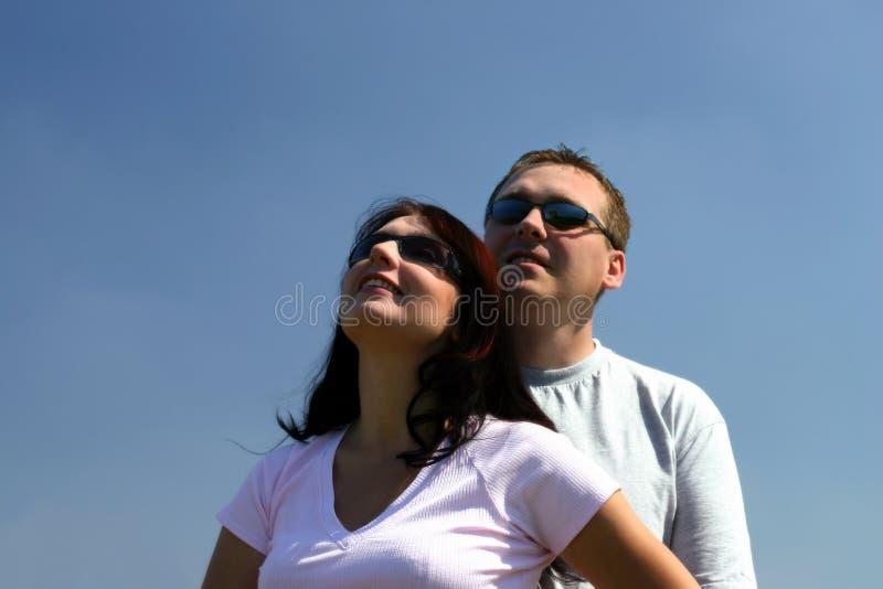 смотрящ людей вверх стоковые фотографии rf