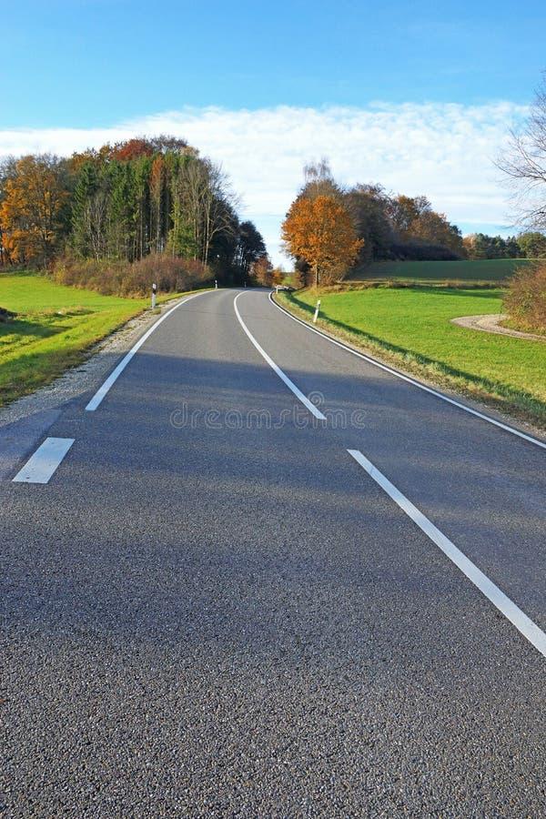Смоленая дорога стоковое фото rf