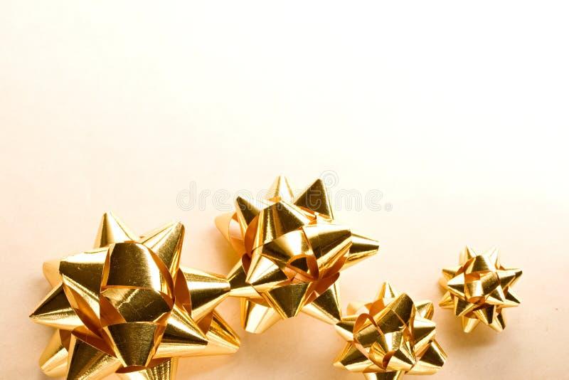 Смычки рождества стоковое изображение rf