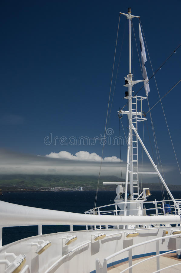 Смычок кораблей стоковое изображение rf