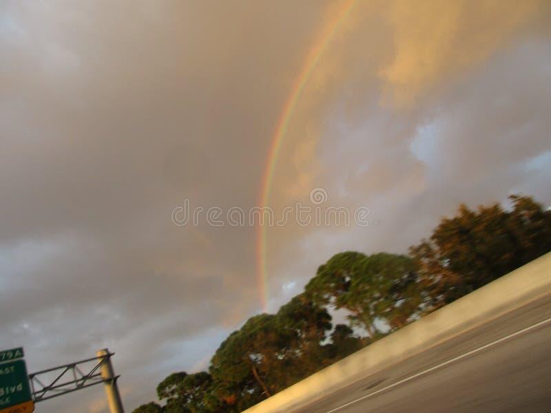 Смычок дождя стоковое изображение rf