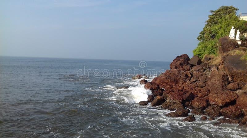 См. пляж стоковые фотографии rf