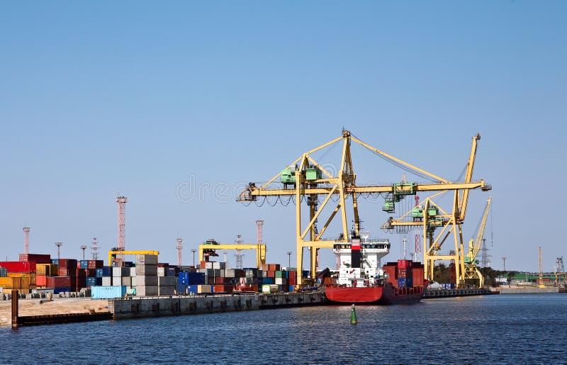 снабжение гавани стоковая фотография rf