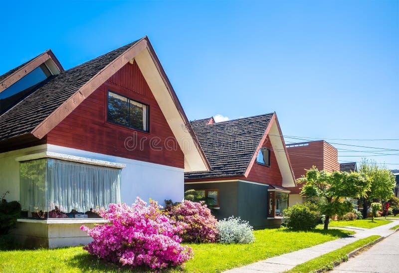 Снабжение жилищем в Чили стоковые изображения