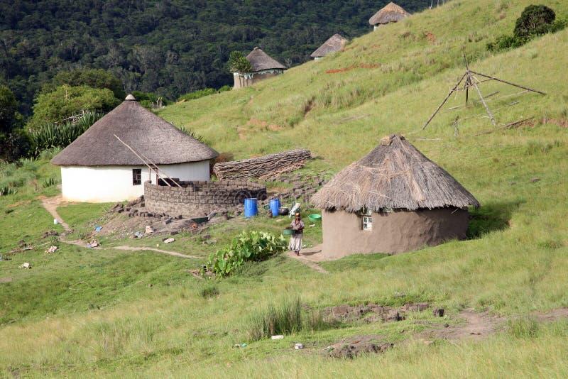 Снабжение жилищем в Южной Африке стоковые изображения