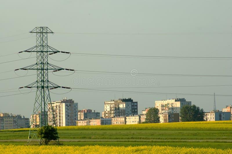 снабжение жилищем имущества энергии стоковая фотография