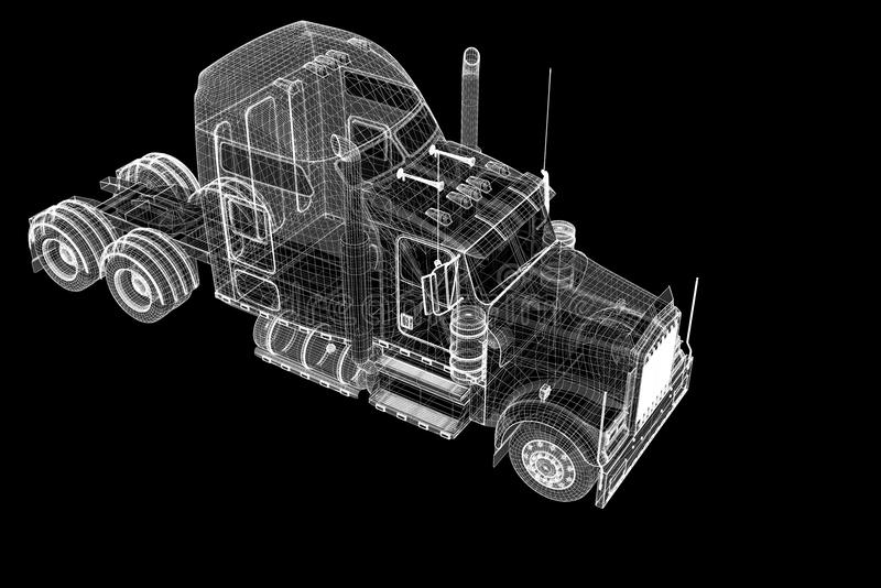 Снабжение - перевозящ на грузовиках стоковое фото
