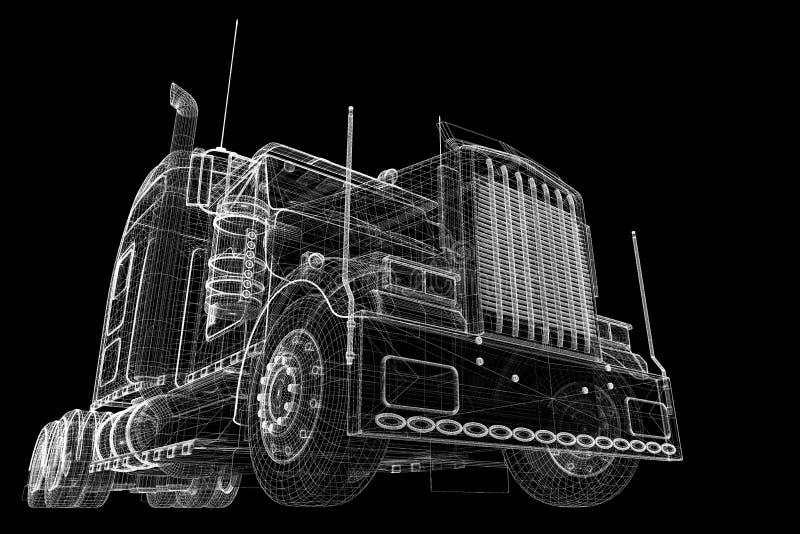Снабжение - перевозящ на грузовиках стоковые изображения